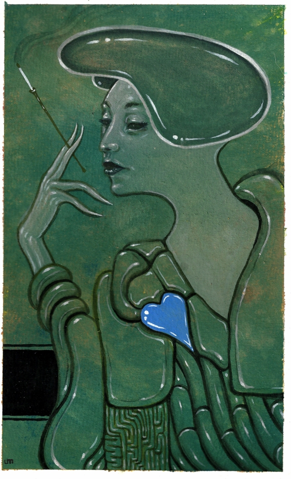 blue heart 150
